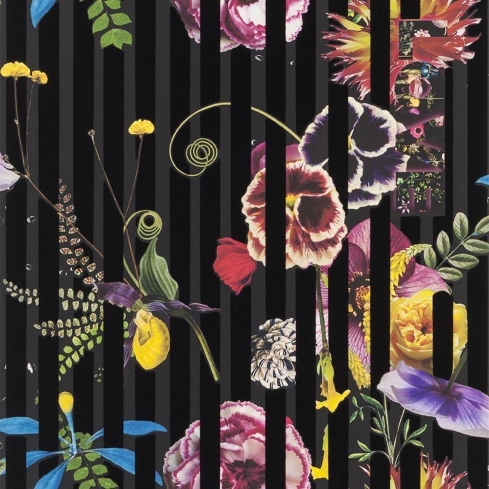 Behang Babylonia Nights Soft uit de Histoires Naturelles Wallpaper-collectie van Christian Lacroix