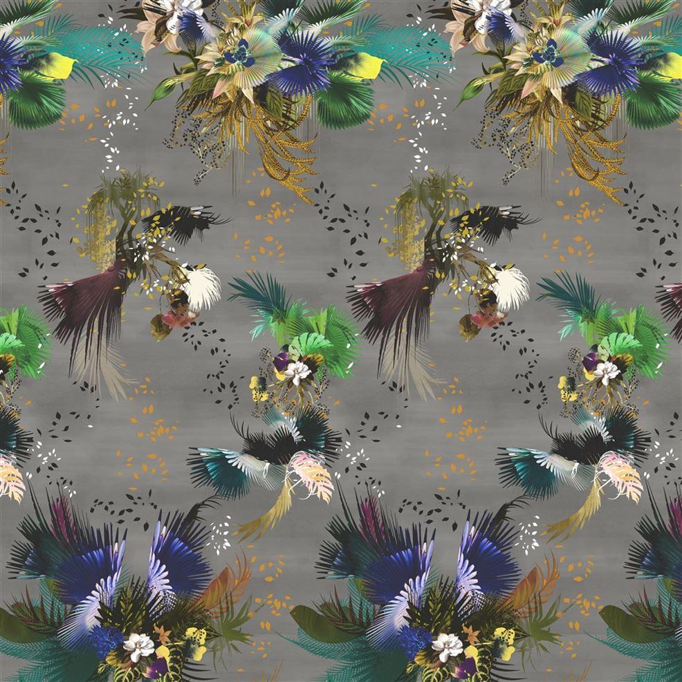Behang Oiseau Fleur uit de L'Odyssée Prints