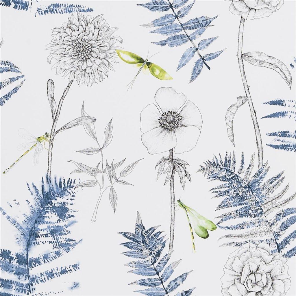 Behang Acanthus uit de The Edit - Flowers Wallpaper Volume I-collectie van Designers Guild