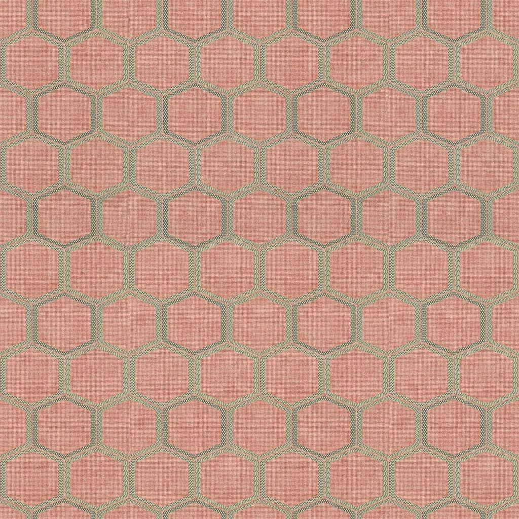 Behang Manipur uit de Chinon Textured Wallpaper-collectie van Designers Guild