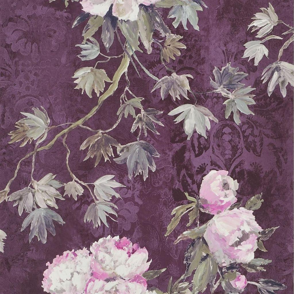 Behang Floreale uit de The Edit - Flowers Wallpaper Volume I-collectie van Designers Guild