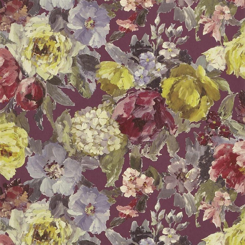 Behang Roseto uit de The Edit - Flowers Wallpaper Volume I-collectie van Designers Guild